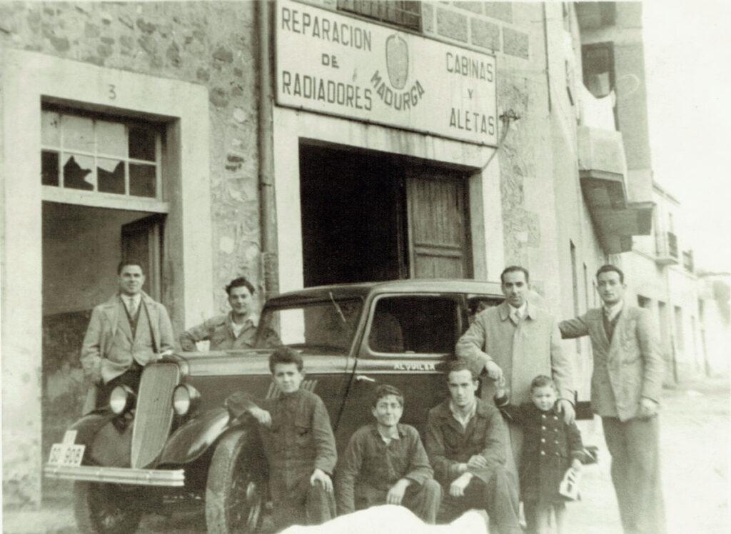 Historia Grupo Madurga