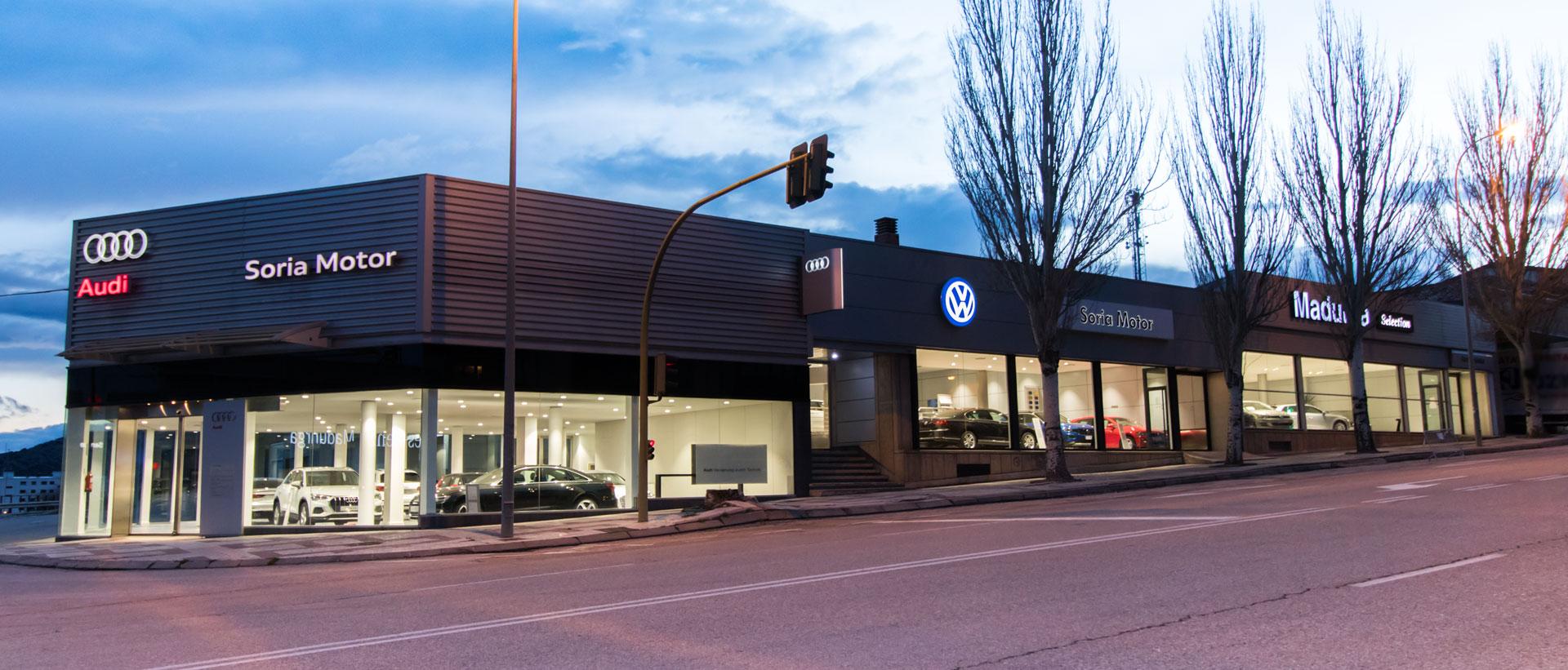 Concesionario Oficial Audi y Volkswagen en Soria